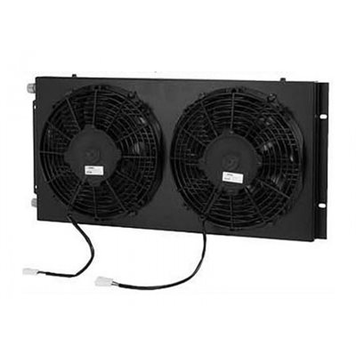 condenseur 2 fan 24 volts